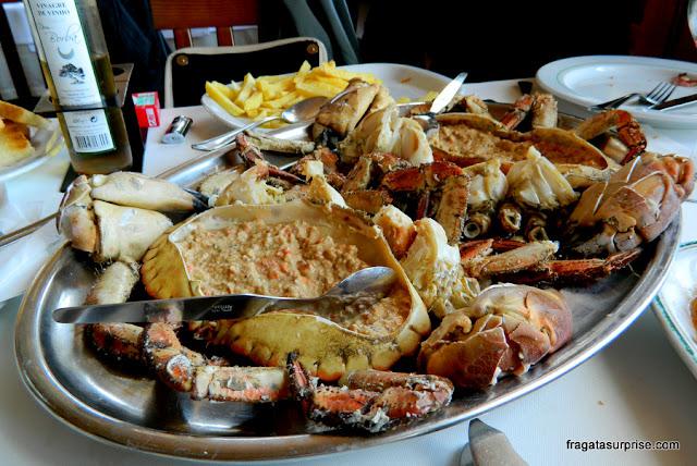 Sapateira, caranguejo típico de Portugal