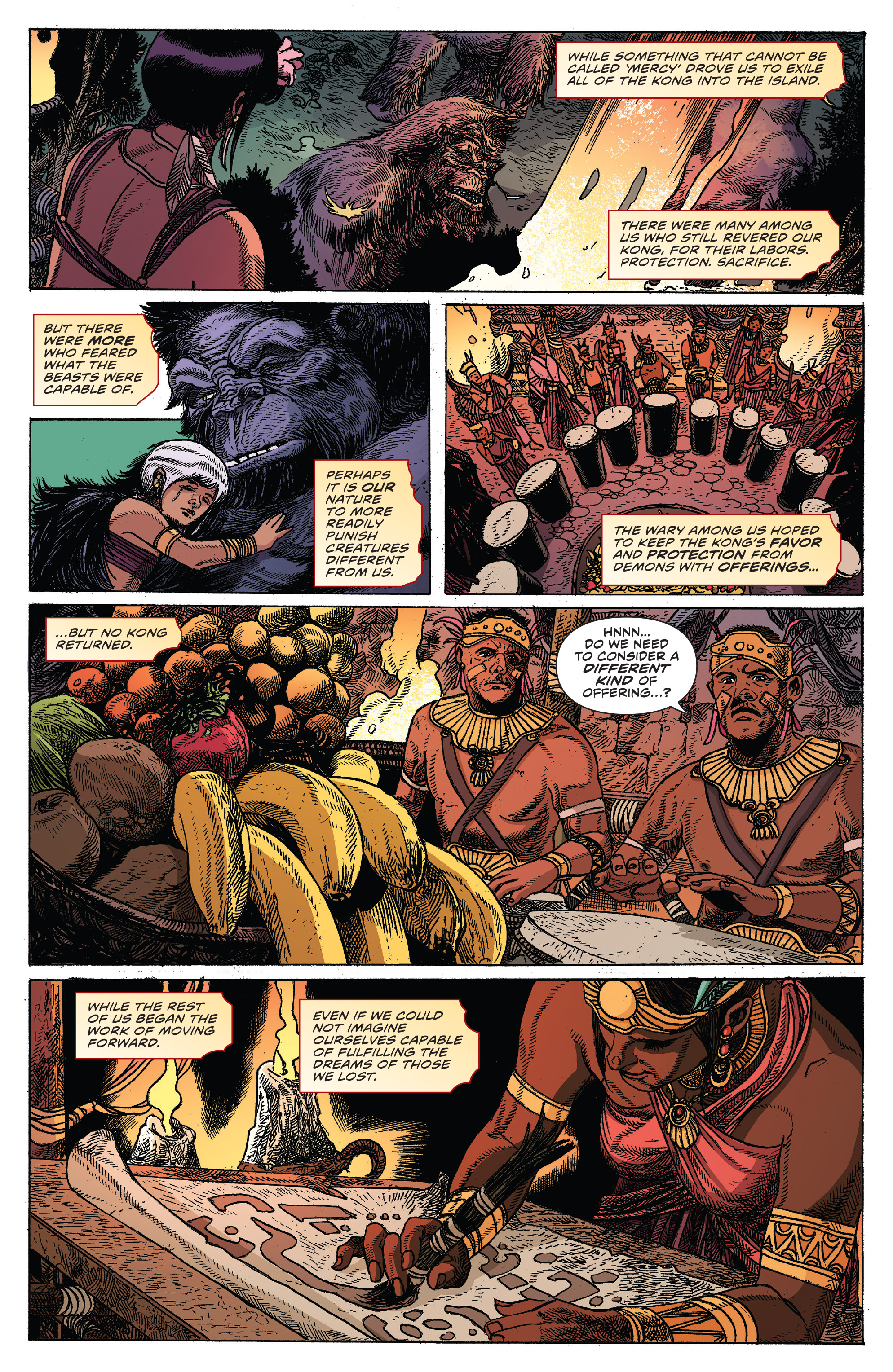 Read online Kong Of Skull Island comic -  Issue #12 - 22