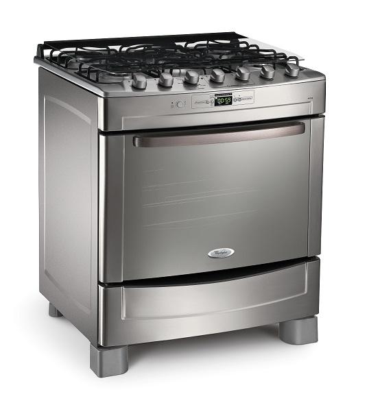 El informatorio whirlpool ampl a la l nea de cocinas de for Cocina 6 hornallas