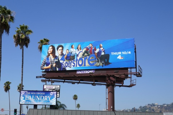 Superstore season 4 billboard