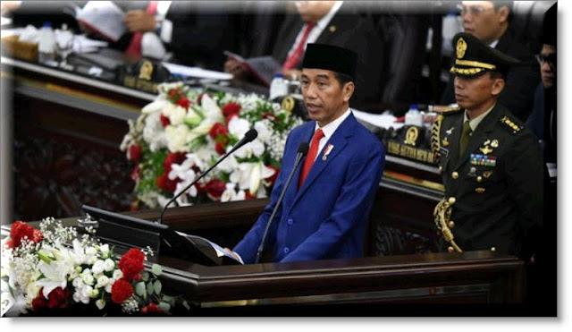 Pidato Presiden Jokowi 16 Agustus 2018