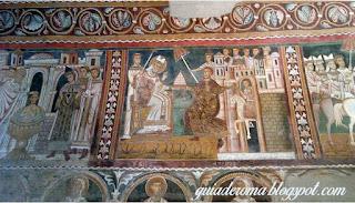capela sao silvestr guia portugues roma - Afrescos Medievais da Capela de São Silvestre