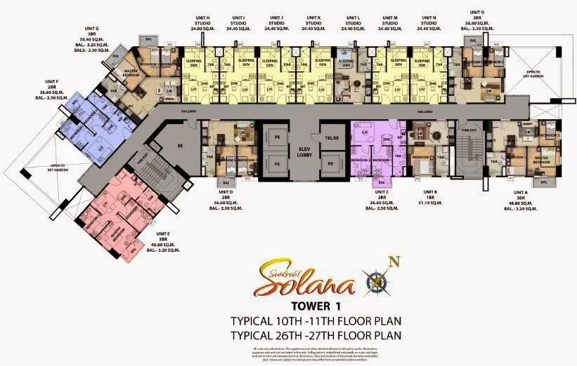 Solana Condominium Tower 1 Open Sky Garden