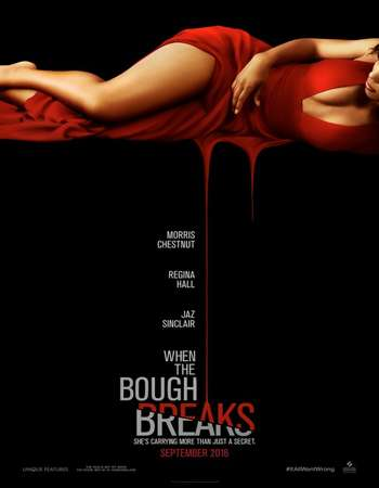 Poster Of When the Bough Breaks 2016 English 700MB HDCAM x264 Free Download Watch Online downloadhub.net