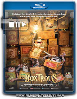 Os Boxtrolls Torrent - BluRay Rip 1080p Dual Áudio 5.1