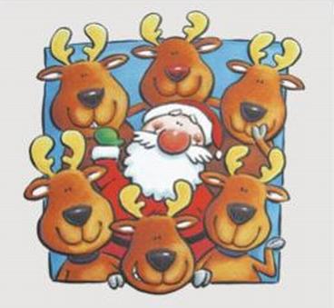 Renne Di Babbo Natale Nomi.Le Renne Di Babbo Natale