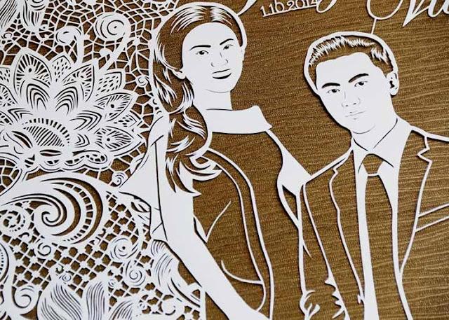 cutteristic ; the art of paper cutting by Dewi Kucu