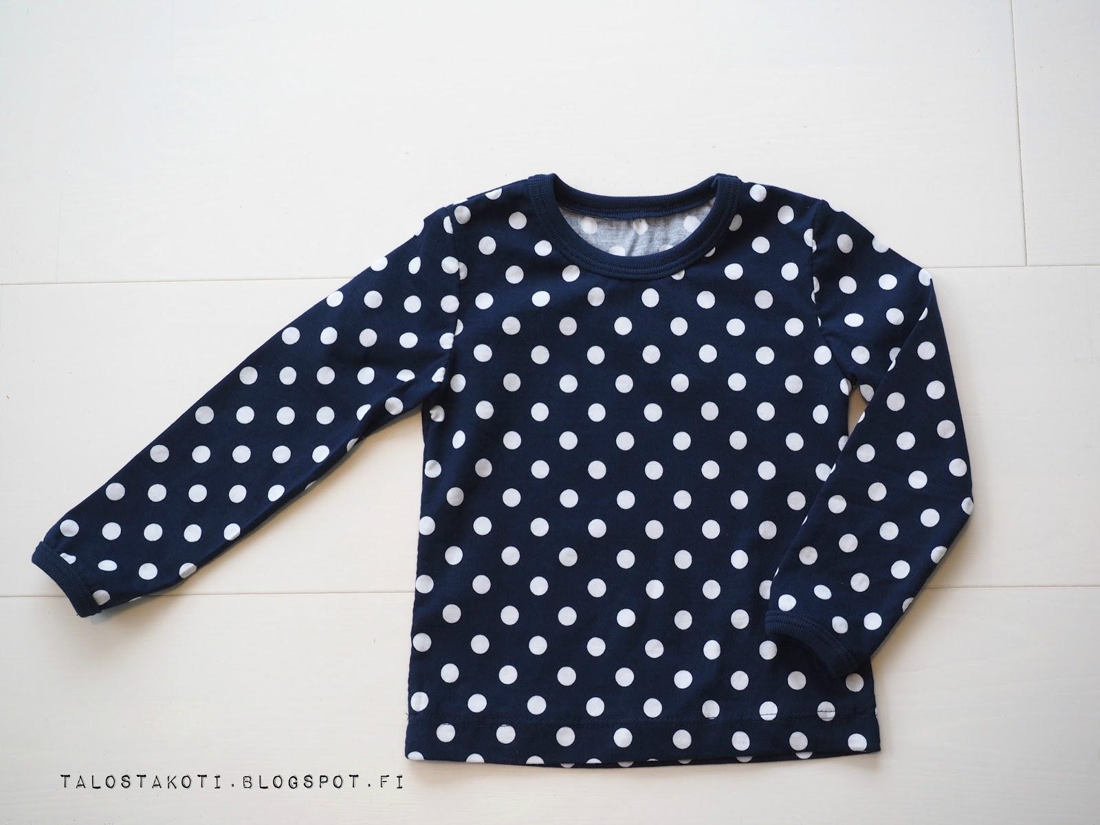 paita, ompelu, itsetehty