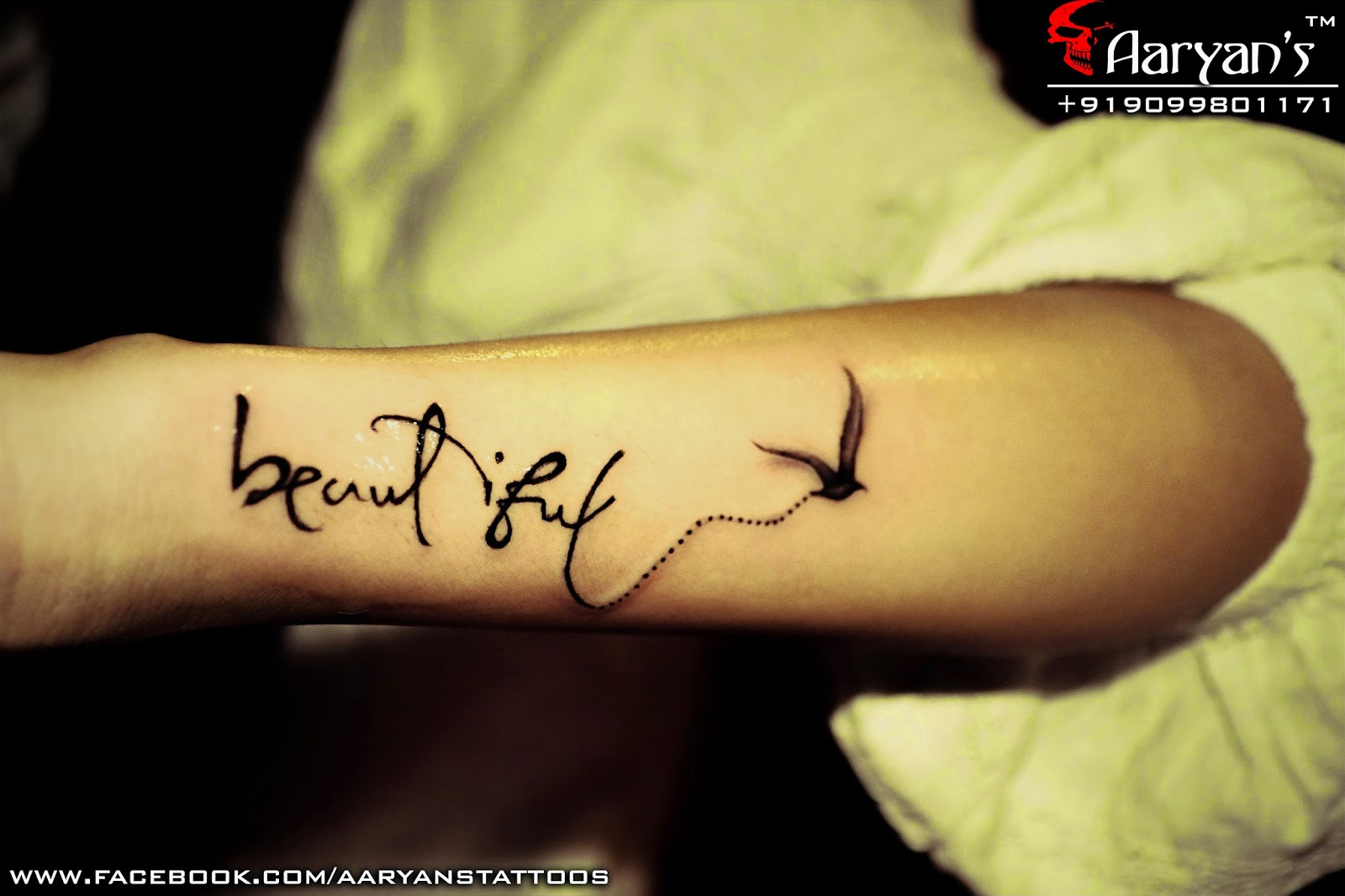 Best Creative Small Tattoos Done By Aaryan Tattooist At