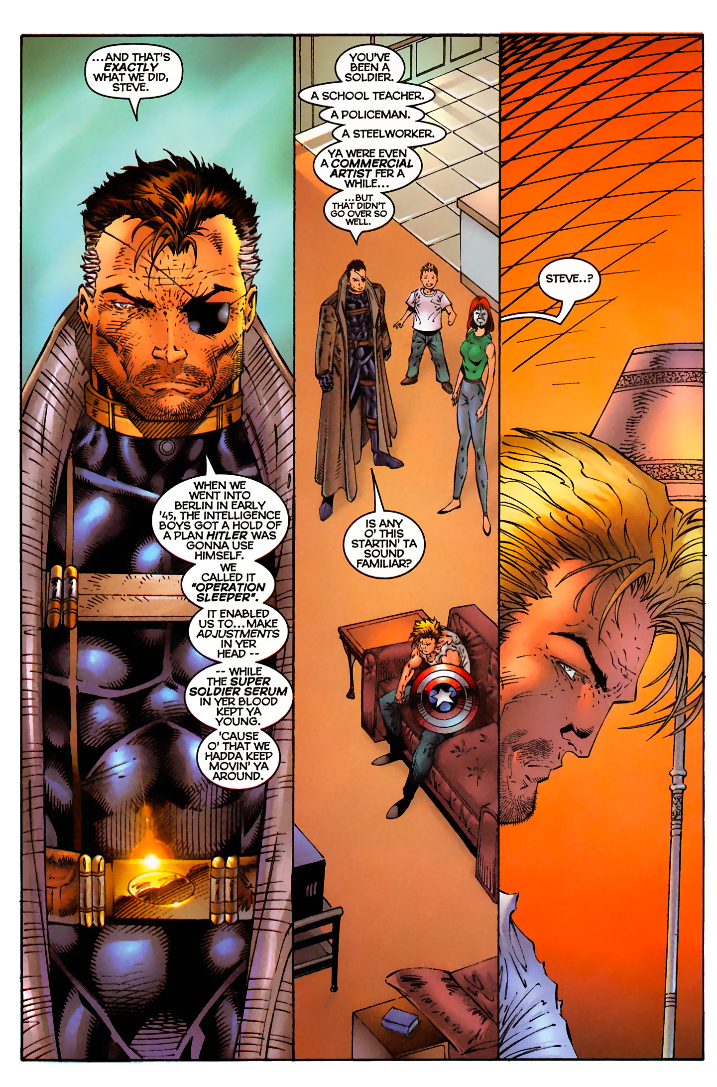Captain America (1996) Issue #3 #3 - English 7