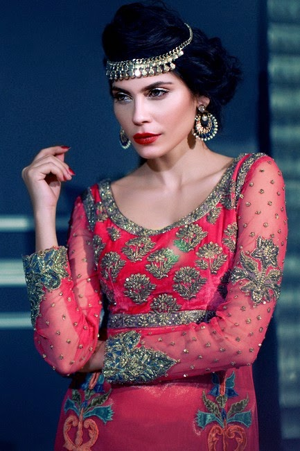 Tena Durrani Camellia Winter / Fall Collection 2014