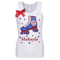 BUbblegum Divas Girls Skate Party Shirt