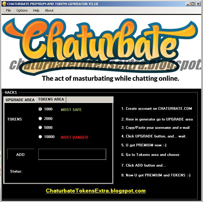 How much is a chaturbate token