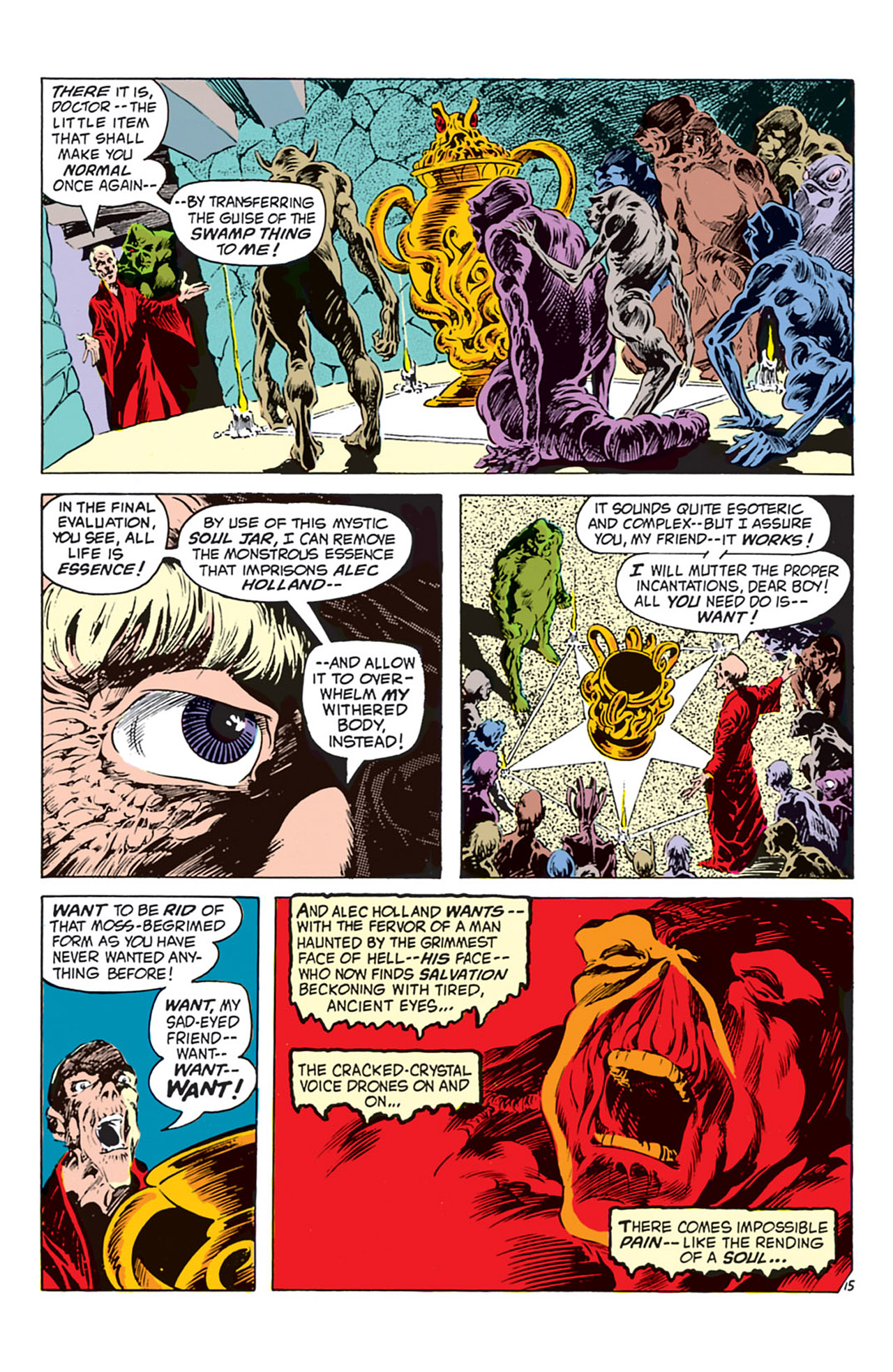 Swamp Thing (1972) Issue #2 #2 - English 16
