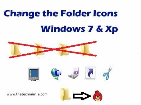 Change Folder Icons in Windows