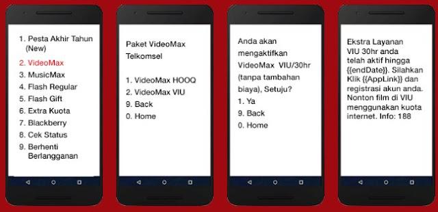 Cara Memakai Kuota Videomax Telkomsel