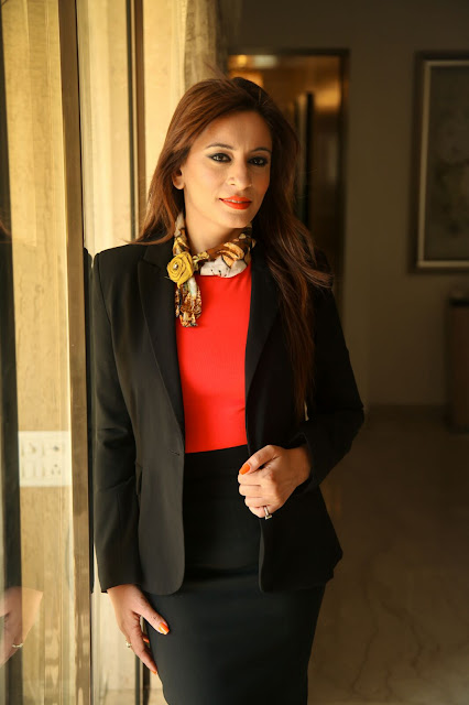 Neha D Gupta of  Pegasis Image Consultancy Interview