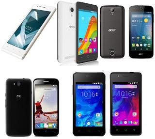 Hp Android harga dibawah 1 juta RAM 1 GB