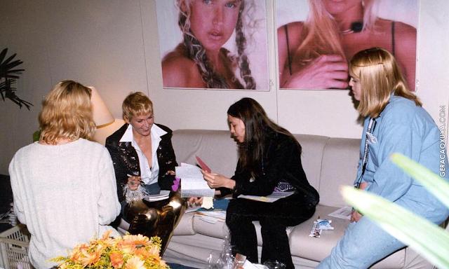 Os autógrafos da Xuxa