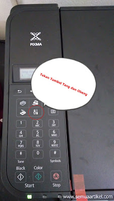 Cara Scan dan fotocopy Kertas F4 Printer Canon MX497