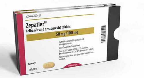 سعر وإستعمال دواء زيباتير Zepatier لعلاج فيروس سى