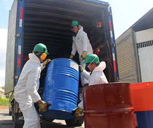 transporte residuos peligrosos sevilla