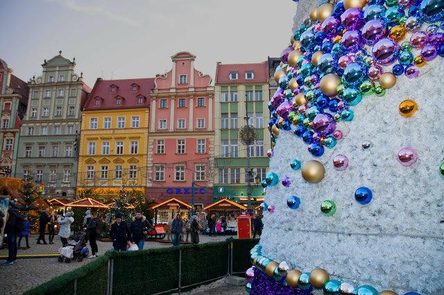 straganiki w rynku we Wrocławiu, Święta Bożego narodzenia