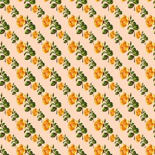 digital paper rose flower design
