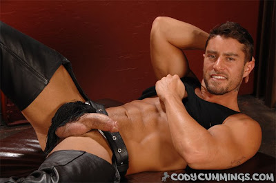 Gay leather cock