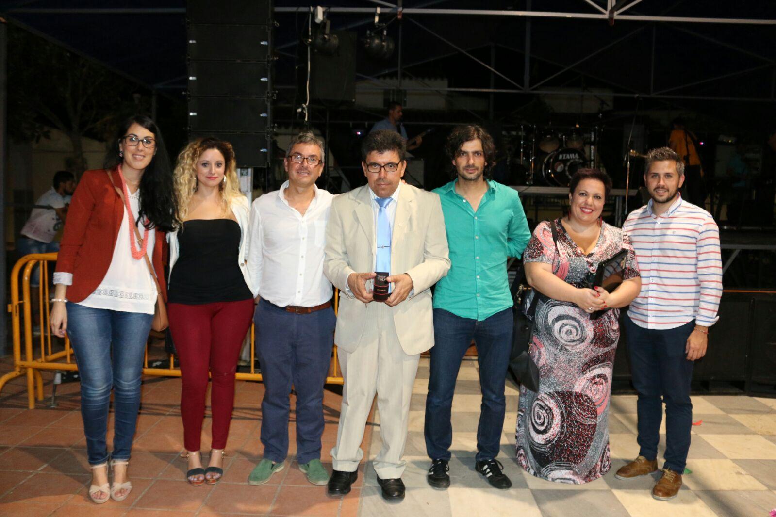 MANUEL LECHÓN PREGONÓ LAS FIESTAS DE LA BARRIADA DE LAS PEÑITAS