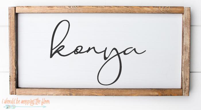 Konya Font