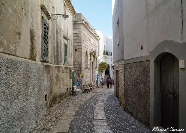 Peschici, centro storico
