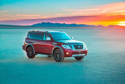 Παγκόσμιο ντεμπούτο για το νέο Nissan Armada στο Σαλόνι Αυτοκινήτου του Σικάγο