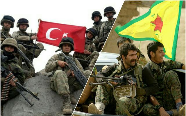 Milisi Kurdi dan Pro-Pemerintah Suriah Bersekutu Lawan Turki