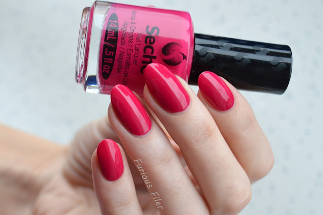 swatch pink valentine's day nailbox seche rendezvous