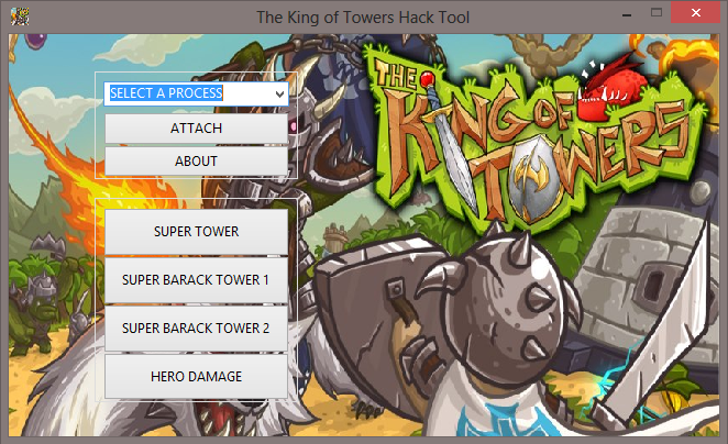 tkot The King of Towers Hile Tool V1.3 Yeni Versiyon indir