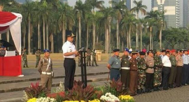 Jelang Pilpres, Anies Himbau Warga Jakarta Lapor Petugas Bila Mengetahui Ada Potensi Gangguan Keamanan