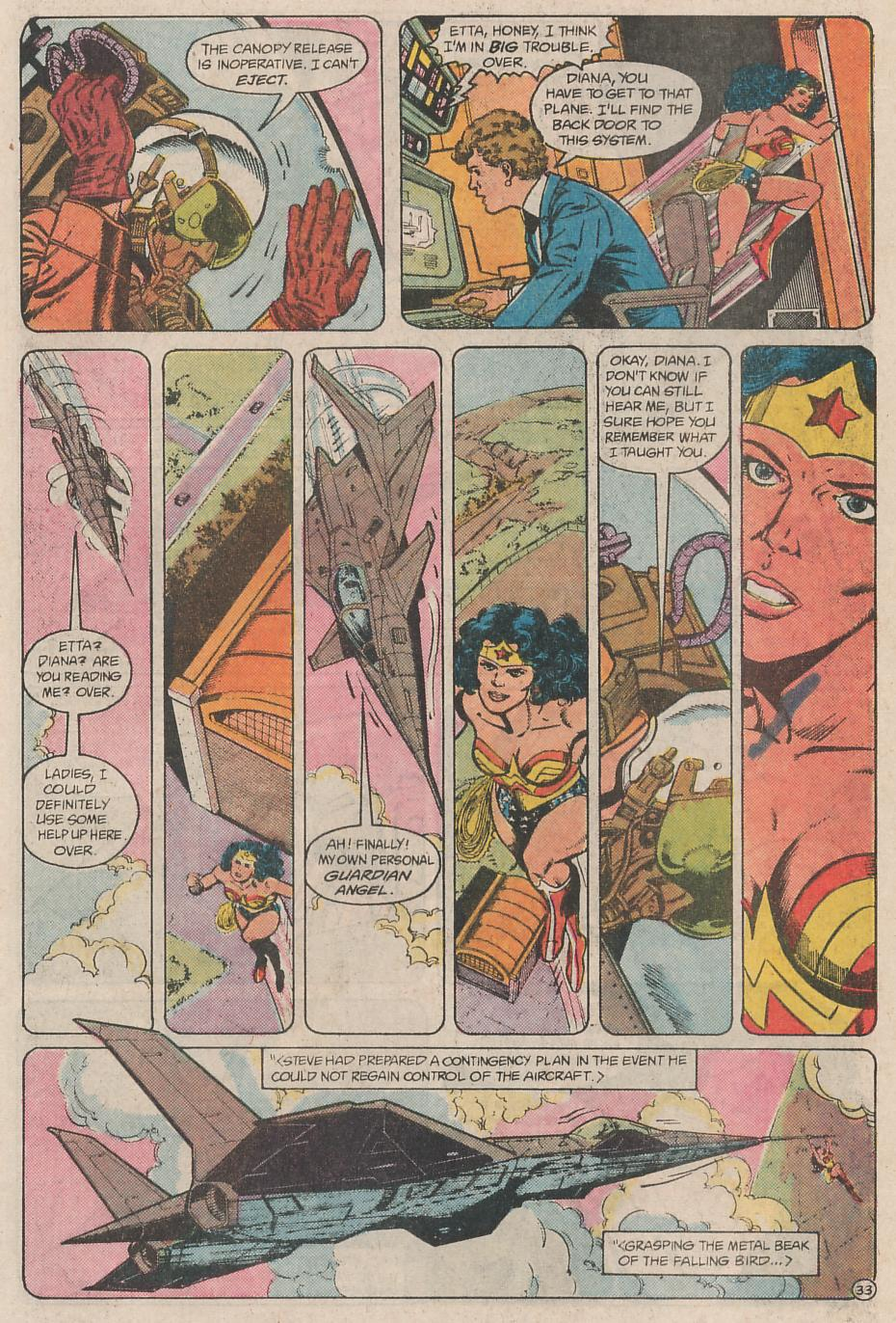 Read online Wonder Woman (1987) comic -  Issue # Annual 1 - 34