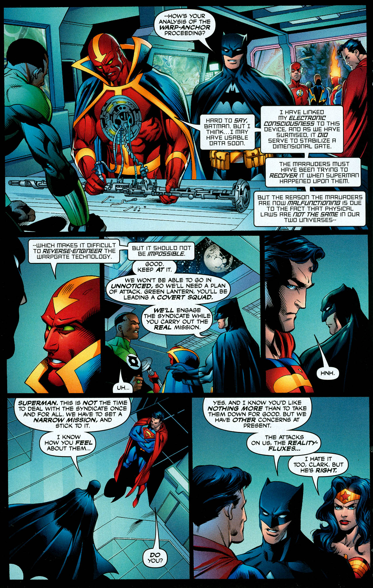Read online Trinity (2008) comic -  Issue #10 - 8
