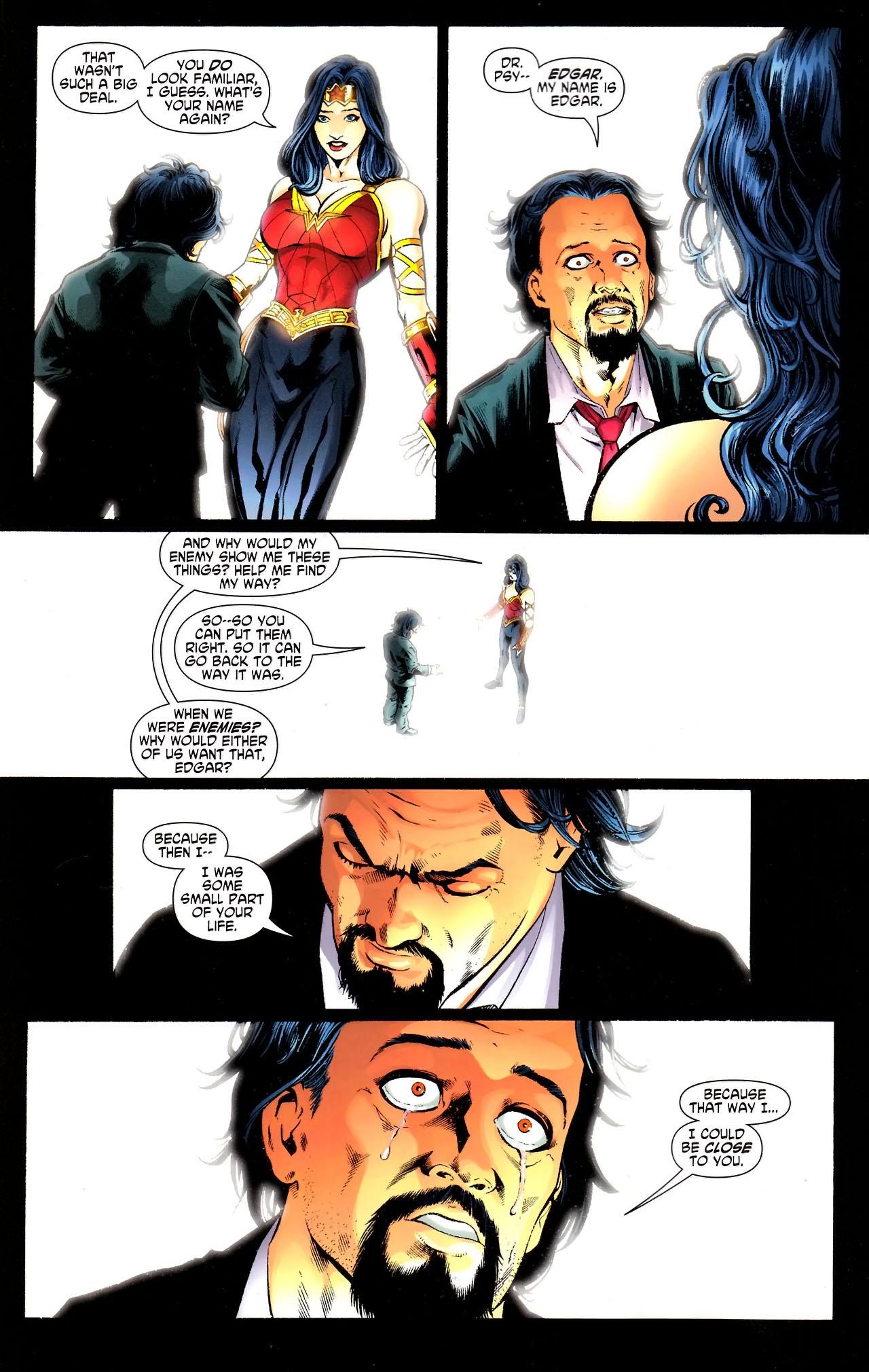 Read online Wonder Woman (2006) comic -  Issue #609 - 13