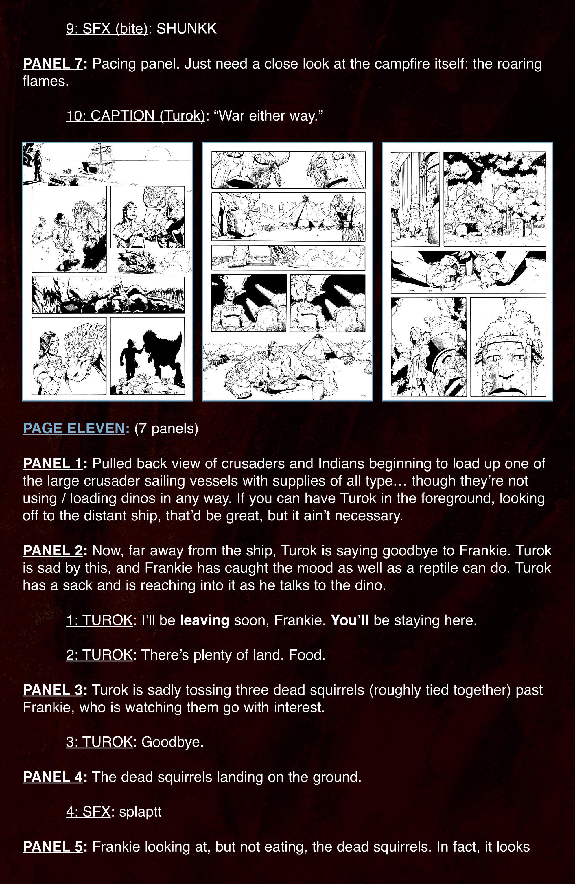 Read online Turok: Dinosaur Hunter (2014) comic -  Issue # _TPB 3 - 102
