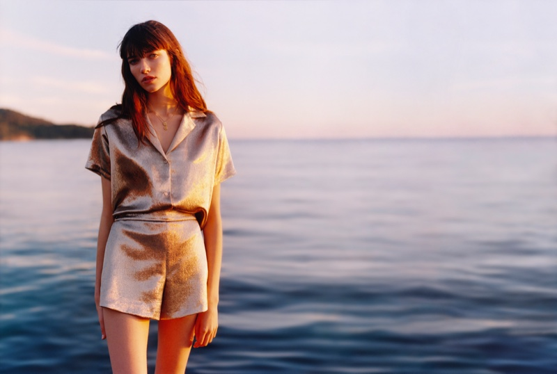Maje Spring/Summer 2019 Campaign featuring Grace Hartzel