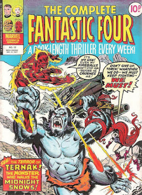 Complete Fantastic Four #13, Ternak