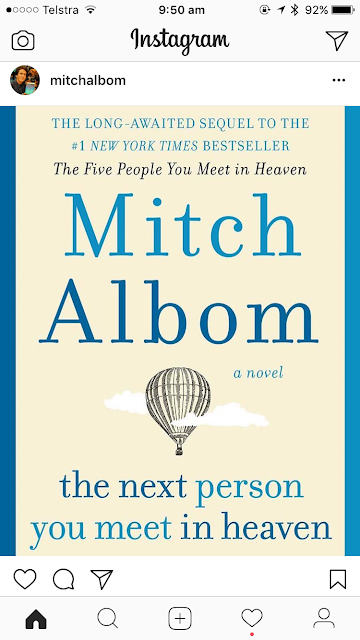 Mitch Albom The Next Person You Meet in Heaven Pre Order