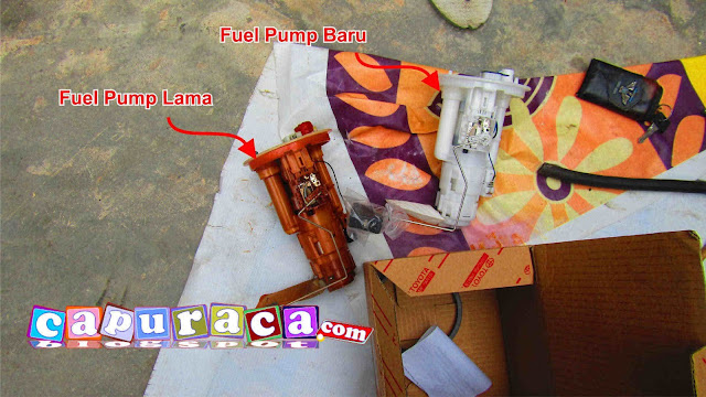 fuel pump avanza, mengganti fuel pump avanza