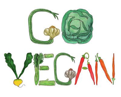 watercolor illustrations of veggies healthy food