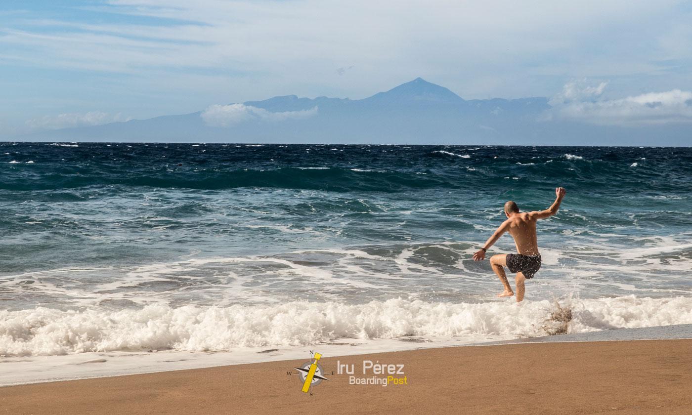 Una de las playas escondidas en Gran Canaria