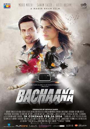 Bachaana 2016 Pakistani Full Movie 700MB HDRip Download