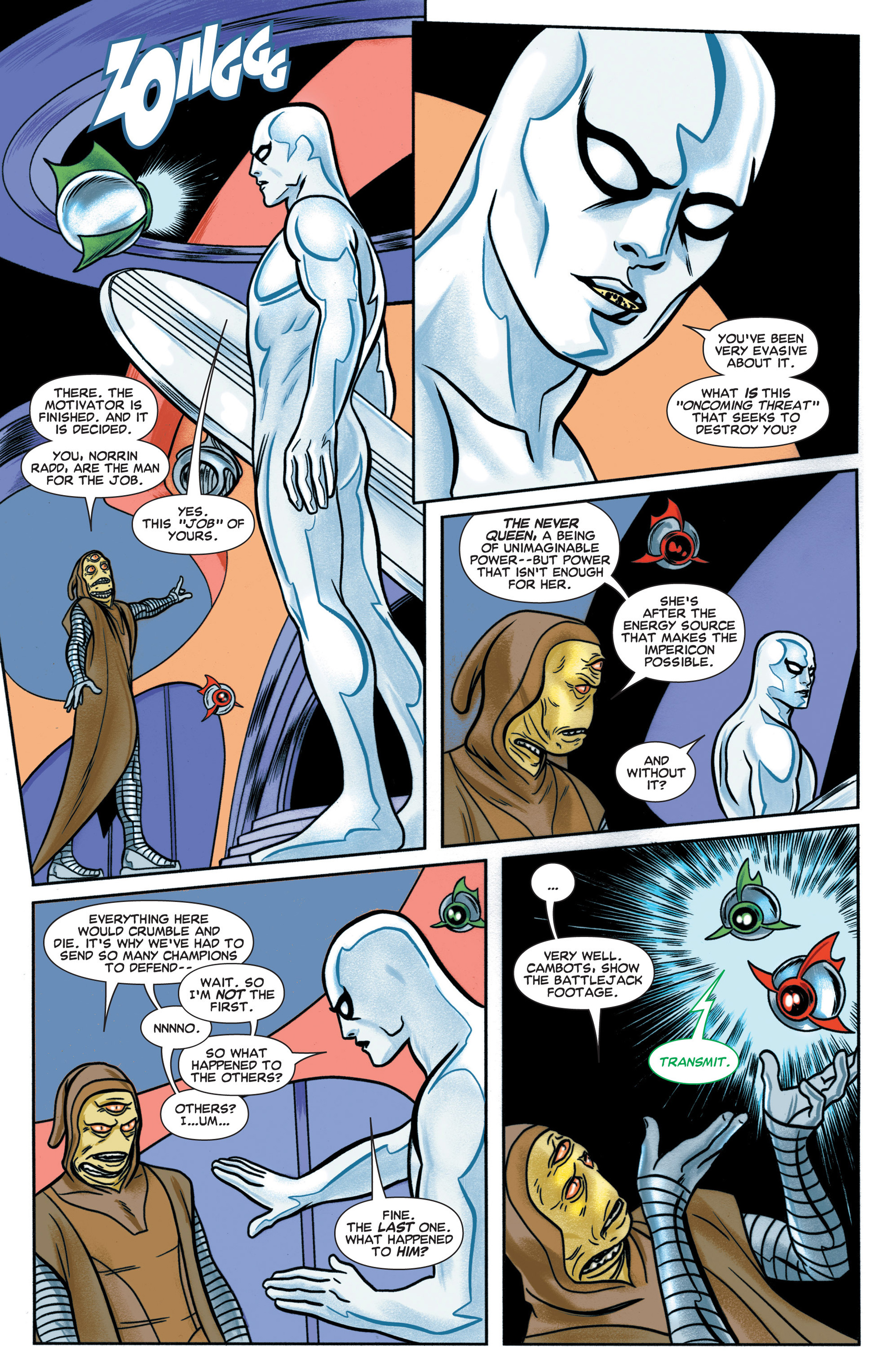 Read online Silver Surfer (2014) comic -  Issue #1 - 16