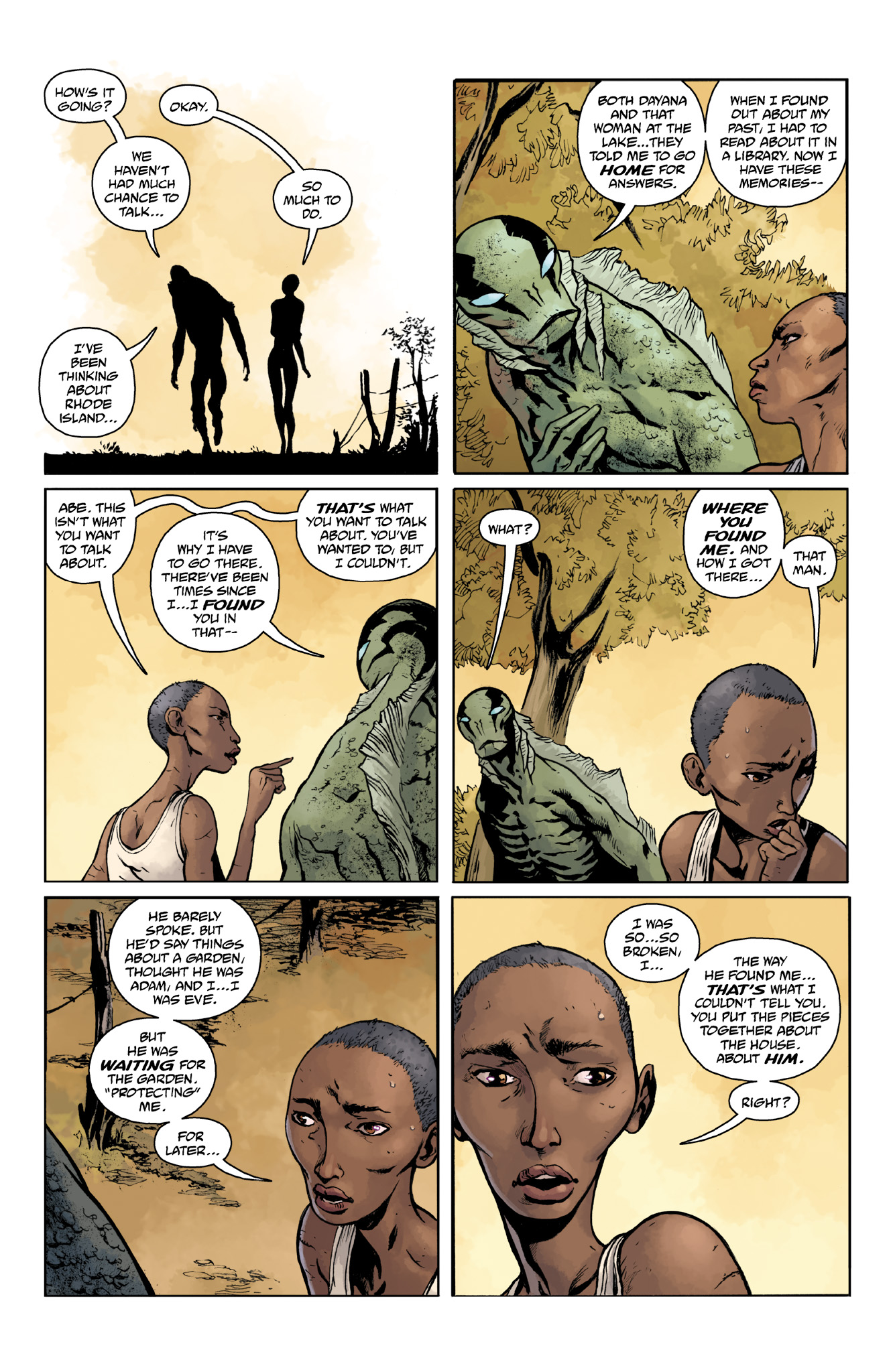 Read online Abe Sapien comic -  Issue #18 - 18